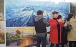 中国での北朝鮮の絵画販売