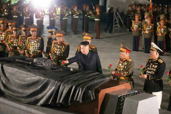 朝鮮戦争休戦協定へ署名した日と時間に再開