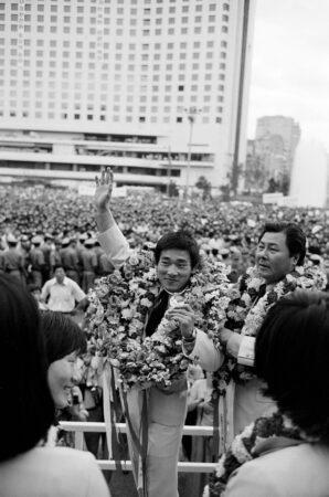 1976年モントリオール大会で梁正模が金メダル獲得