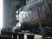 北朝鮮が弾道ミサイル搭載の大型潜水艦 南北で3千トン新型艦就役へ