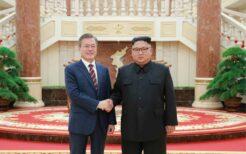 2018年9月18日に平壌で開催された南北首脳会談