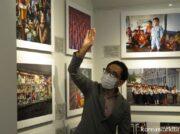 43回訪朝 伊藤孝司氏の写真展「平壌の人びと」 生きた北朝鮮人民