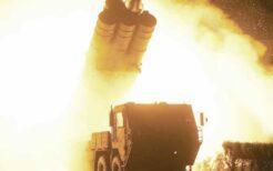 新型長距離巡航ミサイルの発射実験