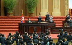 金正恩総書記が9月29日の最高人民会議で演説