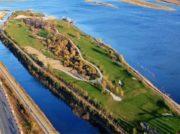 かつて存在した北朝鮮にもっとも近いゴルフ場 鴨緑江中洲にあった幻の珍珠島ゴルフ場