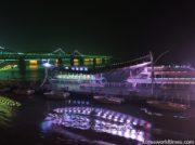 丹東で人気のモーターボート観光が全面停止に