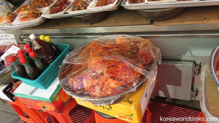 外国食であるキムチが世界1浸透する日本