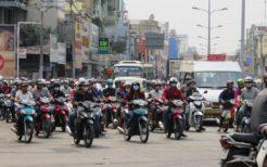 バイク天国のベトナム