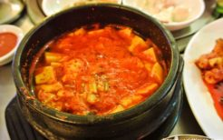 スンドゥブチゲ(豆腐チゲ)