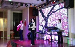 再オープンした丹東柳京飯店でのステージショー